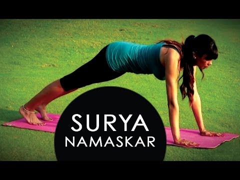 how to do surya namaskar yoga exercisesa professional