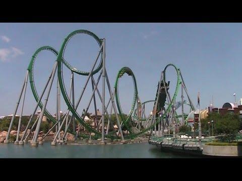 Incredible Hulk Off Ride Hd Universal Studios Islands Of Adventure