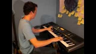 Pirates des Caraïbes piano, synthétiseur