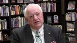 William Albracht discusses liberal arts education and Ronald Reagan