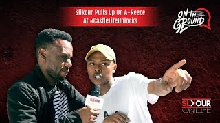 Slikour Pulls Up On A-Reece At Castle Lite Unlocks
