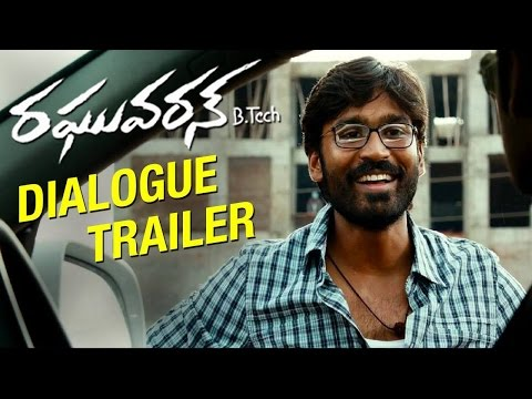 Raghuvaran B.Tech Movie Dialogue Trailer | Dhanush | Amala Paul | VIP