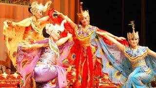 TARI MERAK Peacock Dance Saung ANGKLUNG Udjo KBRI Abu Dhabi HD