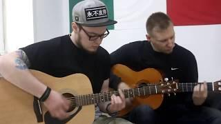 С. Есенин - Заметался Пожар Голубой Кавер на гитаре (guitar acoustic cover)