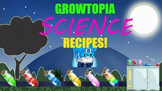 Science Recipes You Must Know! | Growtopia