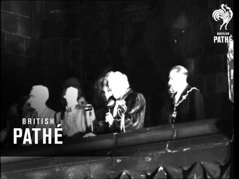 Gracie Fields Visits Rochdale (1947)