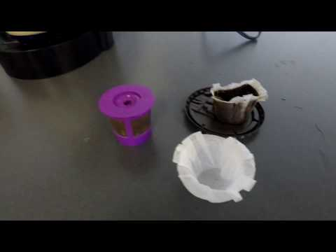 Using K-CUP Paper Filters with Keurig Coffee Machine