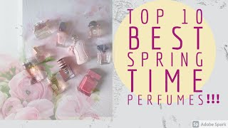 TOP 10 BEST PERFUMES FOR SPRING I ARMANI MY WAY, DELINA, FLORABOTANICA and more #perfumecollection