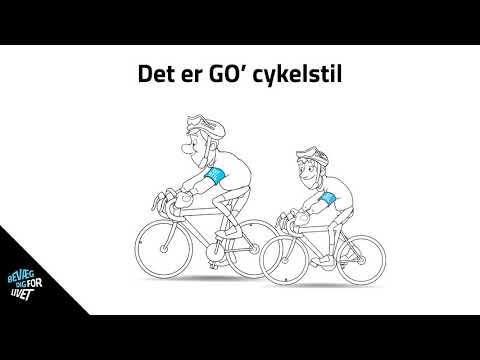 GO' STIL på landevejen - Brug ALTID cykelhjelmen
