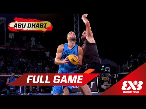 Novi Sad AlWahda vs Kranj - Final Full Game - Abu Dhabi - 2015 FIBA 3x3 World Tour Final
