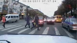 Беспредел на дорогах Владикавказа