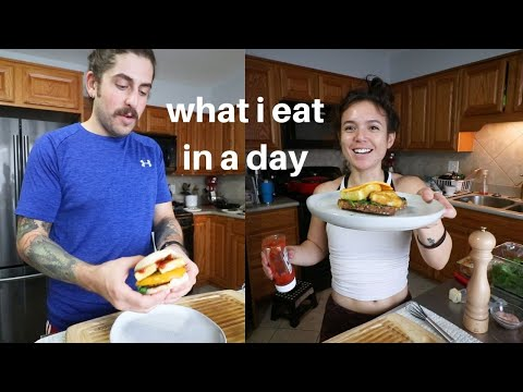 What I Eat in a Day - Pretty Normal Vegan