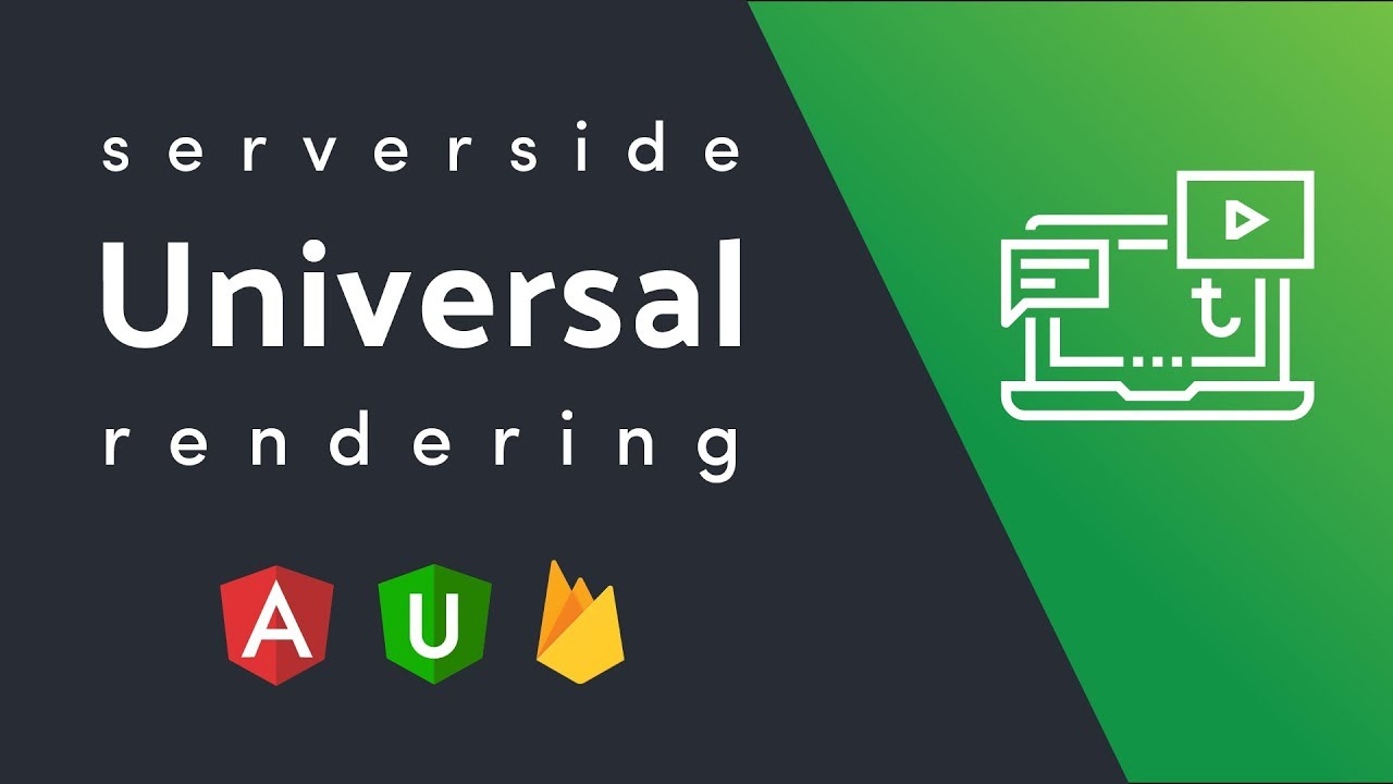 Server Side Rendering Firebase Angular Universal | AngularFirebase