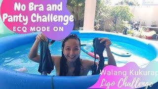 Ligo Challenge Accepted  | No Bra No Panty | Walang Kukurap Just for Fun |