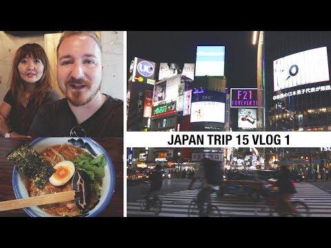 JAPAN TRIP #15 Travel VLOG #1