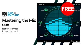 FREE VST | Levels by Mastering the Mix | Mixing Mastering Meters