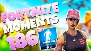 THE ABSOLUTE LUCKIEST GRENADE LAUNCHER SHOT OF ALL TIME!!   Fortnite Funny  Moments Ep. 186