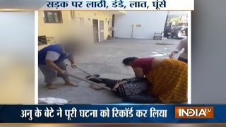 Mother-daughter duo thrashes neighbour over encroachment issue in Delhi