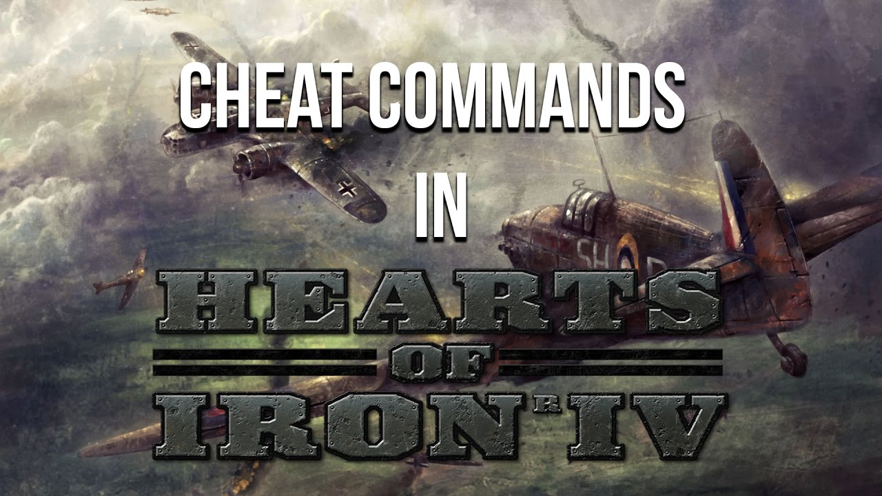 Hearts of Iron 4: Console Commands