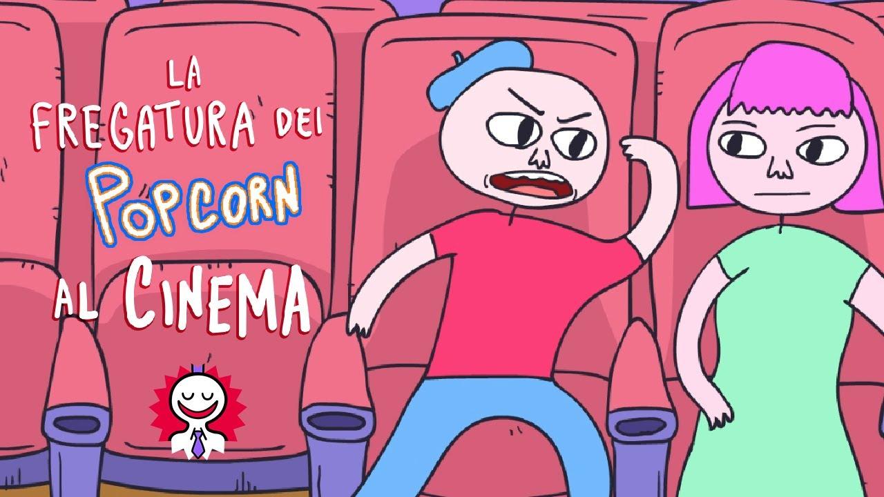 LA FREGATURA DEI POPCORN AL CINEMA