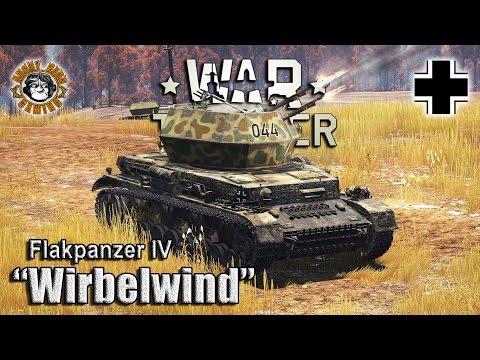 """War Thunder: """"Wirbelwind"""" Flakpanzer IV, German Tier-3 SPAA"""