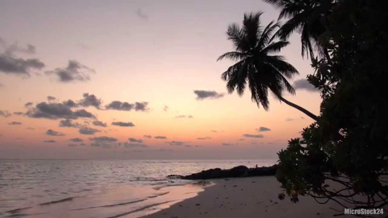 Maldives Sunset - Natural Waves Chill Out | Relaxation ...