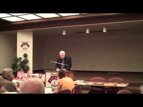 """Marc Harshman reads his poem """"Whitman and Wright Visit the Wheeling Middle School"""""""