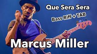 MARCUS MILLER- Que Sera Sera 🎸 Bass Intro + TAB