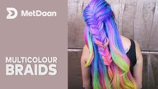Multicolour Braids