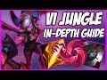 GUIDE ON HOW TO PLAY VI JUNGLE IN SEASON 9! INCLUDES VERY STRONG NEW BUILD - League of Legends