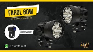 75908cc5a4 Farol De Milha Led Para Moto