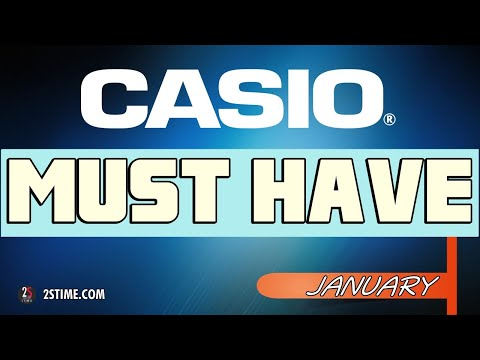 Best CASIO Watches To Buy | January Choice By @2stime