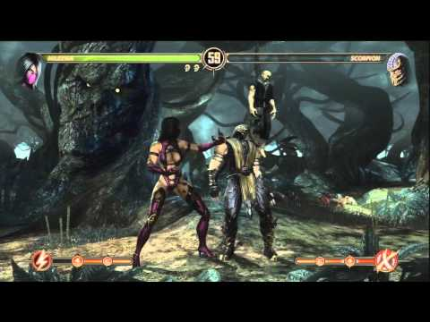 Mortal kombat 2011 demo preview all fatalities x rays and enhanced
