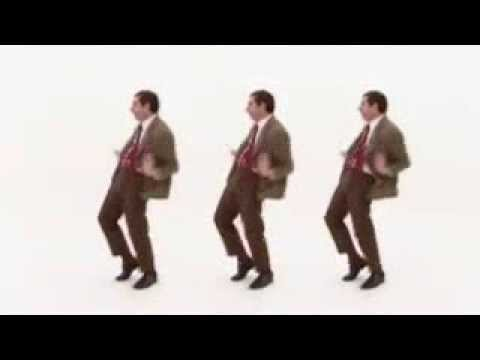 Mr.  Bean goyang Di Reject - Jenita Janet ( Mr. Bean Dancing Dangdut )