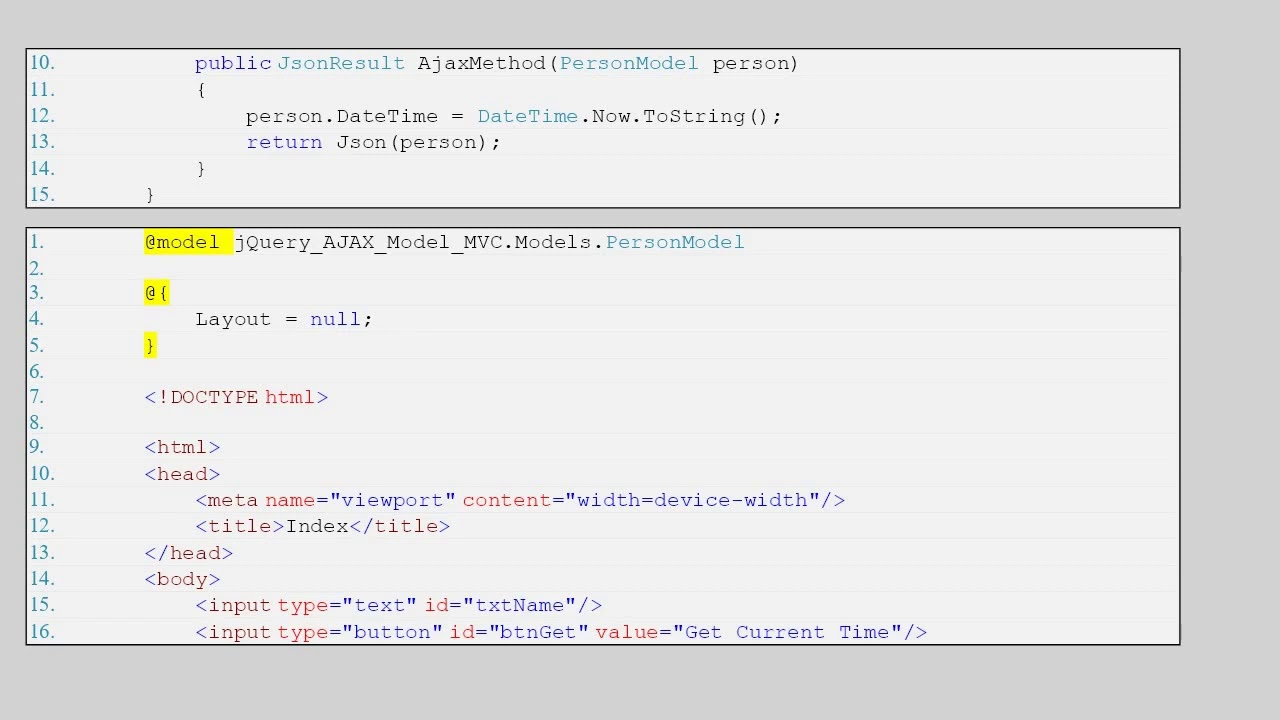 Pass Send Model object in jQuery $.ajax POST request to ...