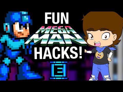 FUN Mega Man HACKS and Fan Games! - ConnerTheWaffle