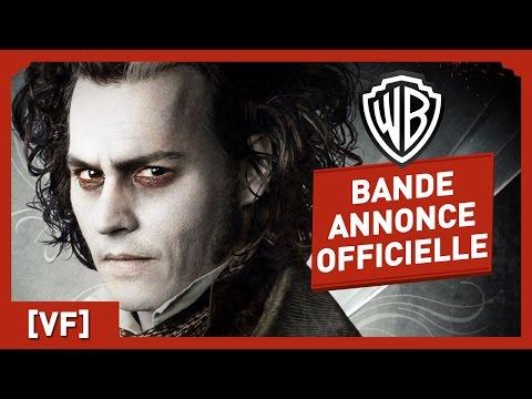 Sweeney Todd, le Diabolique Barbier de Fleet Street  Bande Annonce Officielle VF  Johnny Depp