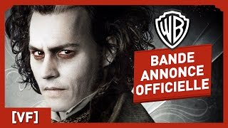 Sweeney Todd, le Diabolique Barbier de Fleet Street - Bande Annonce Officielle (VF) - Johnny Depp
