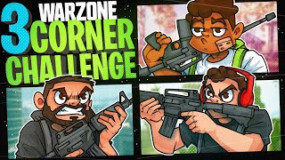 The 3 Corner Challenge w/ CourageJD and Noah456!- Call of Duty Warzone