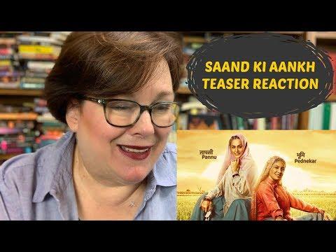 Saand Ki Aankh Teaser Reaction | Taapsee Pannu | Bhumi Pednekar Mp3