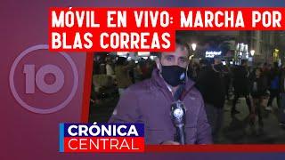 Una multitud marchó en reclamo de justicia por la muerte de Blas Correas