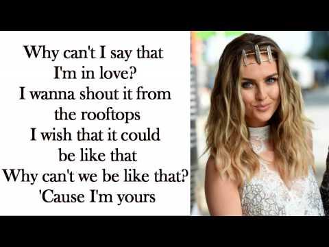 Little Mix - Secret Love Song [Without Jason Derulo] (Lyrics + Pictures)