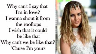 Gambar cover Little Mix - Secret Love Song [Without Jason Derulo] (Lyrics + Pictures)