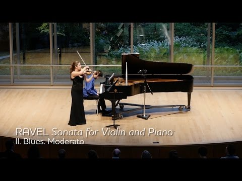 RAVEL Sonata for Violin and Piano, Mvt II - ChamberFest Cleveland (2015)