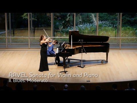 RAVEL Sonata for Violin and Piano, Mvt II - ChamberFest Cleveland (2015)