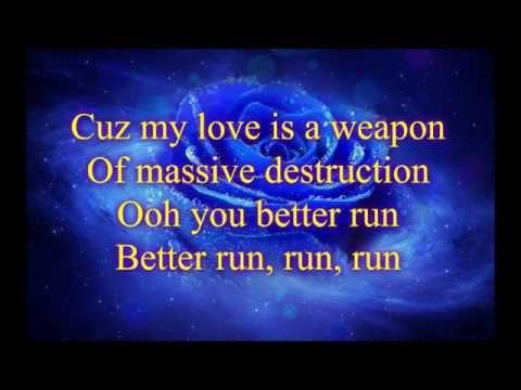 Skrux Ft. Delacey - My Love is a Weapon [Lyrics]