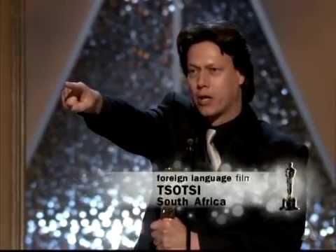 """Tsotsi"" Wins Foreign Language Film: 2006 Oscars"