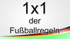 1x1 der Fußballregeln