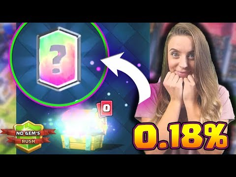 NO Gem's RUSH - CLASH ROYALE POLSKA - LEGENDA Z FREE CHEST #28