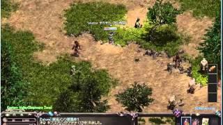 リネージュ10年ぶりにプレイ♪大人気オンラインゲームLineage!狩りで瀕死!?